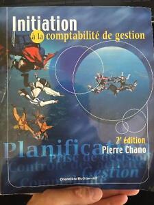 Initiation à la comptabilité de gestion 2e édition Pierre Chano
