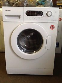 Samsung WF-B1456GW 6kg 1400 Spin White LCD Washing Machine 1 YEAR GUARANTEE FREE FITTING