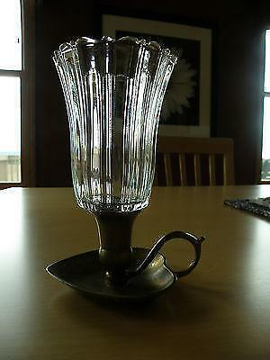 Home Interiors Glass Candle Holder Ebay