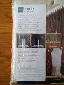 Pair of curtains, brand new, pinch-pleated cream colour London Ontario image 2