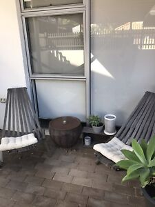 2 Driftwood chairs Crawley Nedlands Area Preview