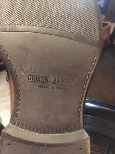 Armani men's shies Kitchener / Waterloo Kitchener Area image 3