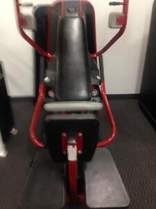Nautilus 2nd generation dual chest fly and chest press