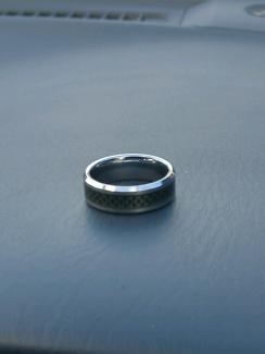 Men Tungsten ring