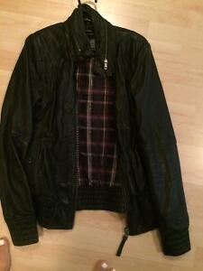 SMALL USED MACKAGE LEATHER JACKET