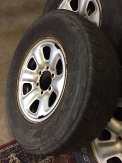 245 70 R16 Rims with Tyres for Prado or Hilux
