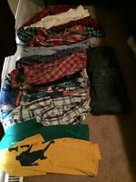 19 items - Boys size 14-16