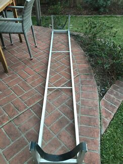 Roof rack rowing scull