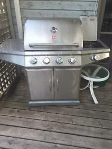 Teragear BBQ with side burner