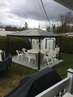 Camping prevert lot 256, roulotte 32'
