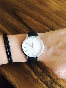 Rosefield Gramercy watch - green/silver/white Bondi Eastern Suburbs Preview
