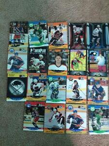 Hockey & Spiderman cards $5 for entire lot