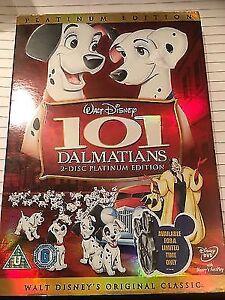 101 Dalmatians - 2 disc platinum DVD edition