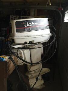 Older 30 hp Johnson outboard