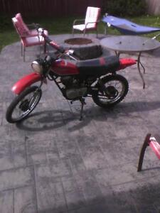 82 Honda XL 100 works awesome 500 or best offer