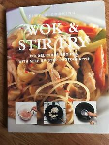 WOK & STIR FRY COOKBOOK FOR SALE!