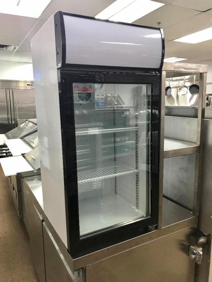 Frigo Commercial De Comptoir Vitree Neuf Countertop Glass Door