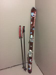 Downhill Skis, boots & poles