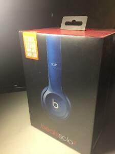 Dr Dre Beats Solo 2 Headphones. NEW- price drop