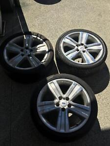 Genuine 3 X BF rims and tyres plus 2 spare tyres Upper Coomera Gold Coast North Preview