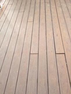 Used composite timber decking - approx 130 sqm