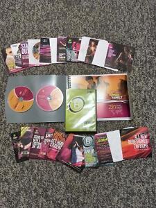 Zumba instructor DVDs & CDs