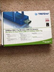 Trendnet Wireless G Broadband Router & Wireless USB Adapter $30