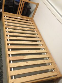 IKEA ( Bed frame and Mattress with fitted sheet)