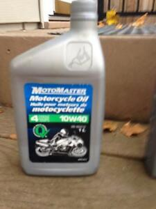 Motorcycle Oil - Synthetic, Semi-Synthetic, Regular, 5L, 4L, 1L