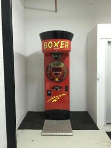 Must go! Arcade coin & bill operated Boxer Machine