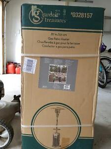 Propane Patio Heater (new in box / never assembled)
