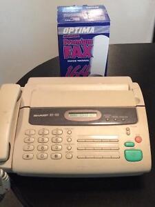 Sharp UX-186 Used Fax/Phone machine