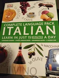 Learn Italian book and CD set Conder Tuggeranong Preview