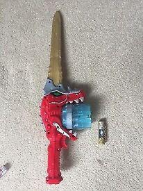 RARE power ranger sword excellent condition