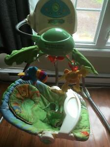 Fisher price rainforest swing great condition