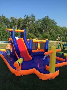 Inflatable Water Park - Pirate Blaster