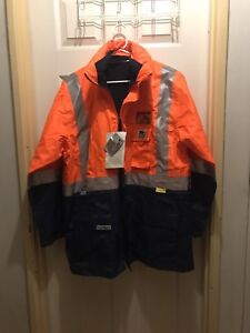 Rain High Vis Jacket Lockridge Swan Area Preview
