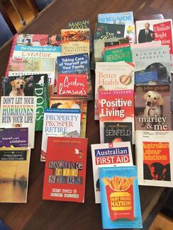 Books, assorted
