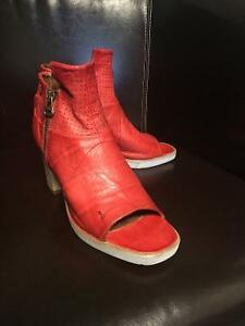 Red Mjus Strandlund Shoes - New, Never Worn