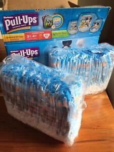 Huggies Pull-Ups & Over Nites (3 boxes for $25)