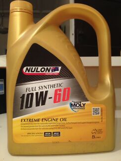 Nulon Engine Oil 10W60 Full Synthetic Extreme 5L
