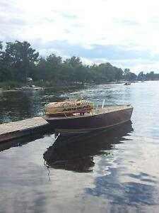 Thundercraft Boat and trailer Kawartha Lakes Peterborough Area image 1