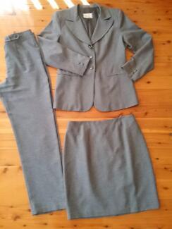 ROCKMAN'S 3Xpiece suit ie: Jacket, skirt and slacks. Size 12.