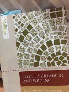 Effective reading and writing
