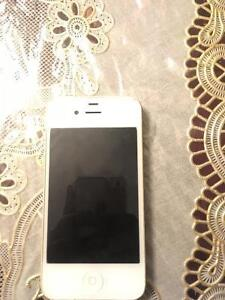 !!Iphone 4s blanc!!+cover