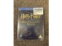 New Harry Potter Blu Ray Steelbook Year 1 philosophers stone