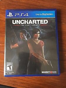 Lot Uncharted 4 et Uncharted The Lost Legacy