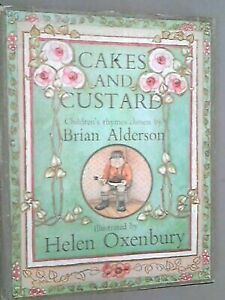 Cakes And Custard Children s Rhymes By Brian Alderson - $4.23