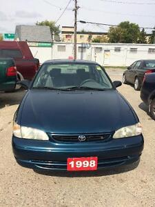 1998 Toyota Corolla ~ SAFTEIED and ready to go