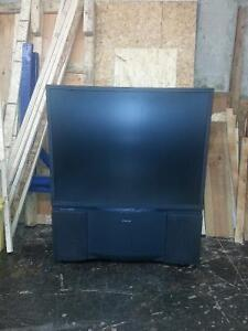 "Old School Home Theatre Toshiba 50"" TV"